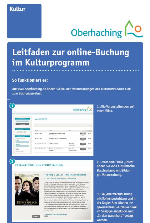 Leitfaden Online-Buchung