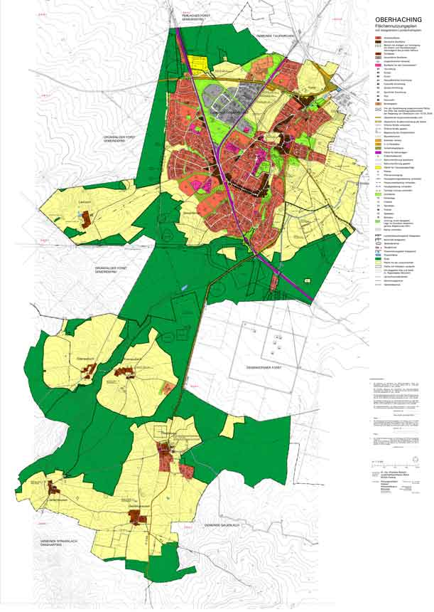 Ansicht Flächennutzungsplan zum Vergrößern