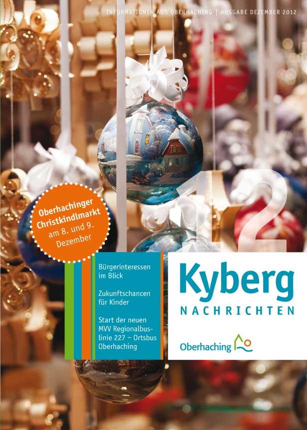 Kybergnachrichten Dezember 2012 Titelbild