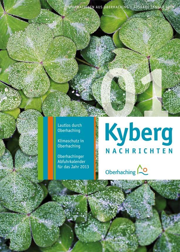 Kybergnachrichten Januar 2013 Titelbild