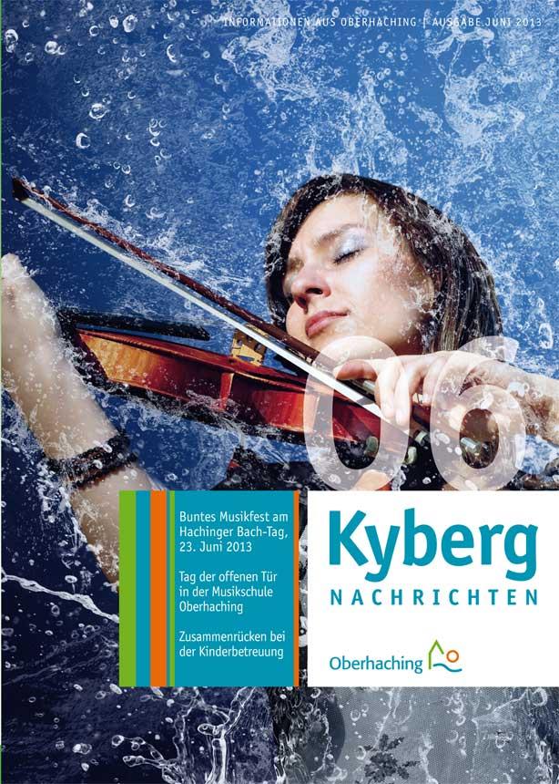 Kybergnachrichten Juni 2013 Titelbild