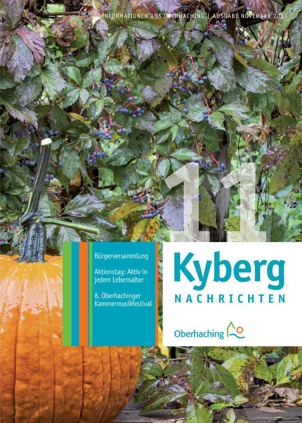 Kybergnachrichten November 2013 Titelbild
