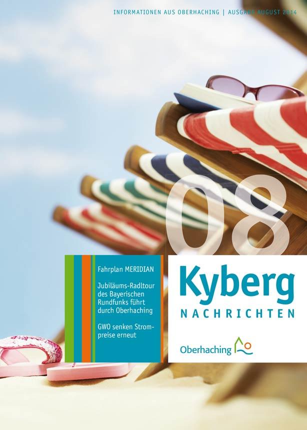 Kybergnachrichten August 2014 Titelbild