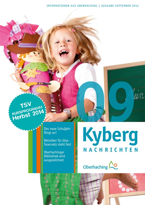 Kybergnachrichten September 2014 Titelbild