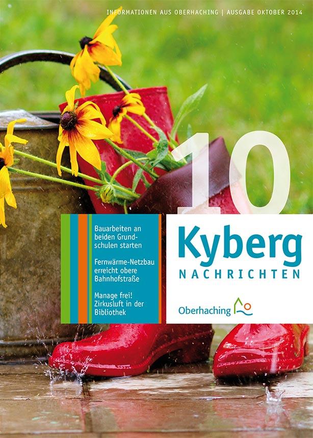 Kybergnachrichten Oktober 2014 Titelbild