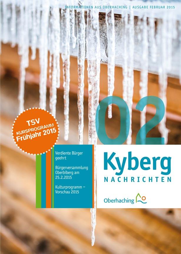 Kybergnachrichten Februar 2015 Titelbild