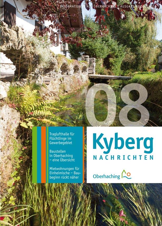 Kybergnachrichten August 2015 Titelbild