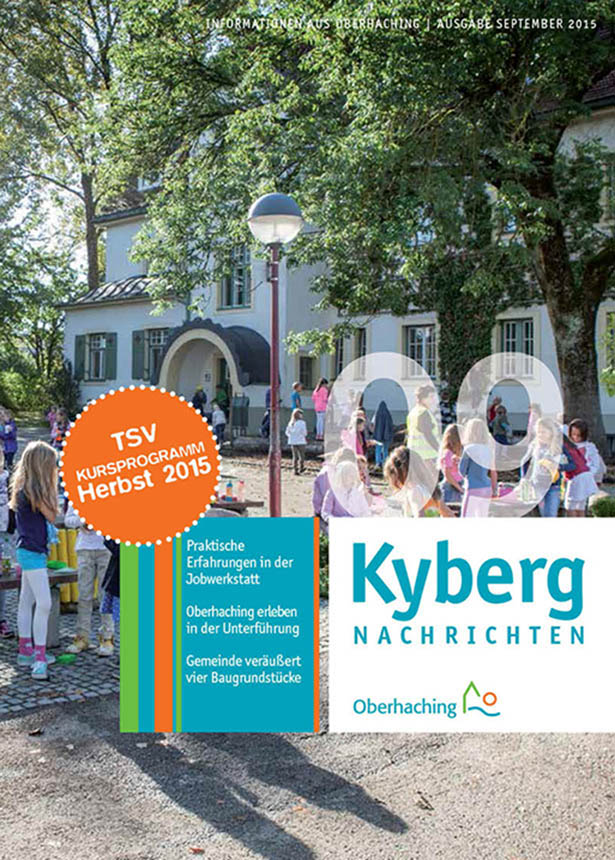 Kybergnachrichten September 2015 Titelbild