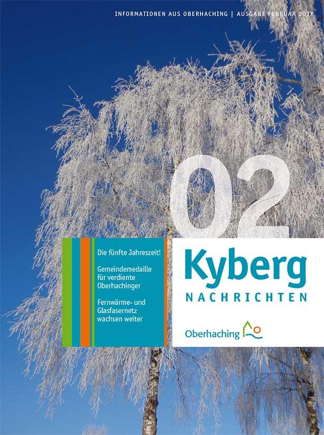 Titelseite Kybergnachrichten Februar 2017