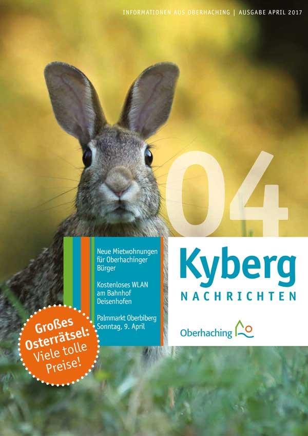 Titelseite Kybergnachrichten April 2017
