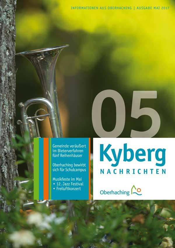 Titelseite Kybergnachrichten Mai 2017