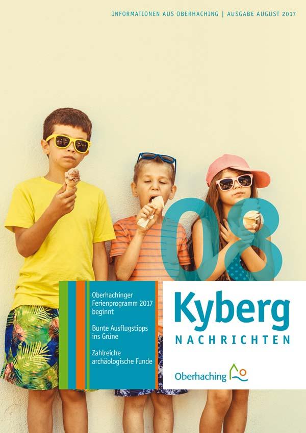 Kybergnachrichten Titelseite August 2017