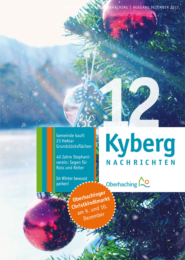 Titelseite Kybergnachrichten Dezember 2017