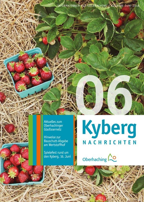 Titelseite Kybergnachrichten Juni 2018