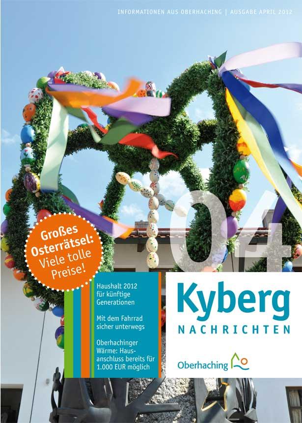 Kybergnachrichten April 2012 Titelbild