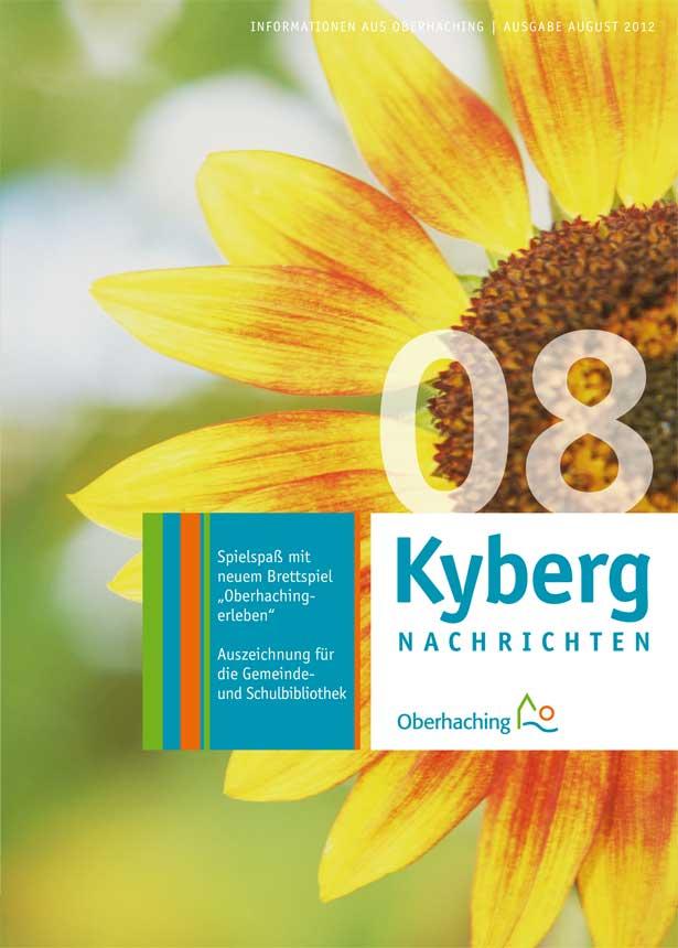 Kybergnachrichten August 2012 Titelbild