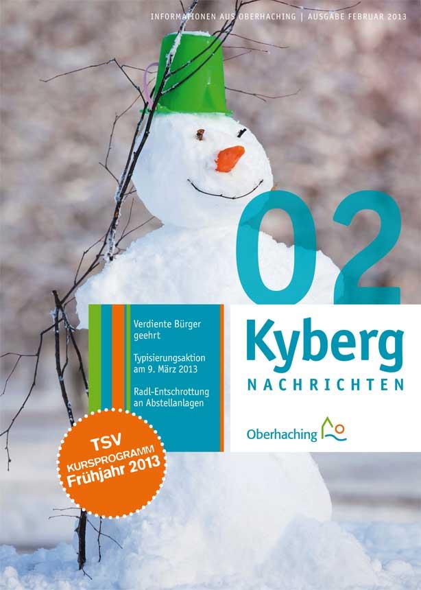 Kybergnachrichten Februar 2013 Titelbild
