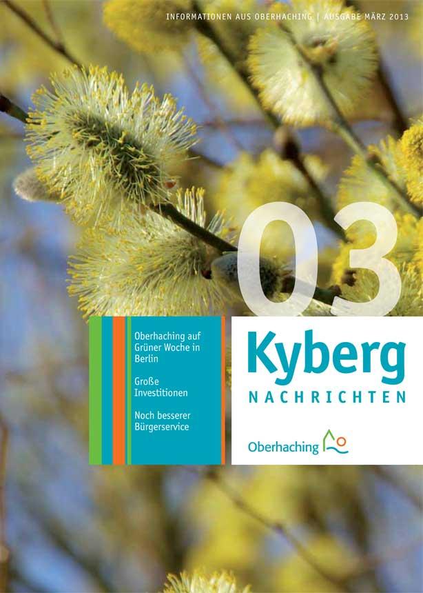 Kybergnachrichten März 2013 Titelbild