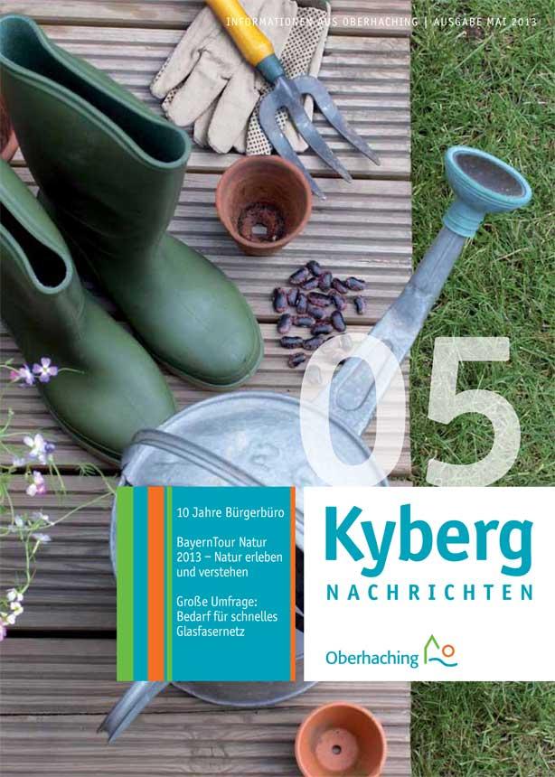Kybergnachrichten Mai 2013 Titelbild