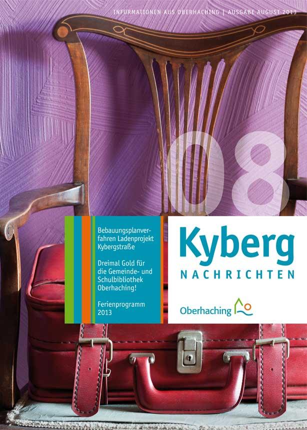 Kybergnachrichten August 2013 Titelbild