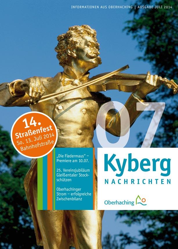 Kybergnachrichten Juli 2014 Titelbild