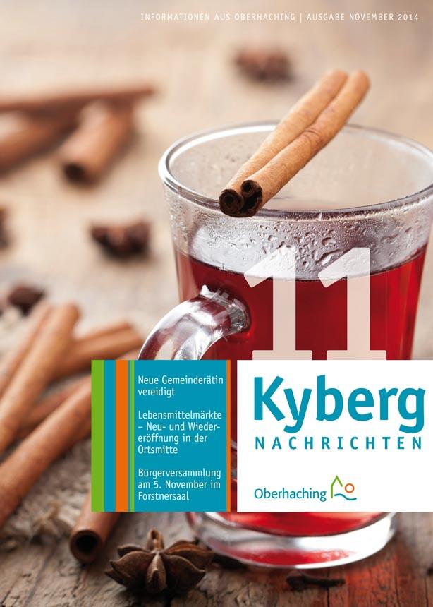 Kybergnachrichten November 2014 Titelbild