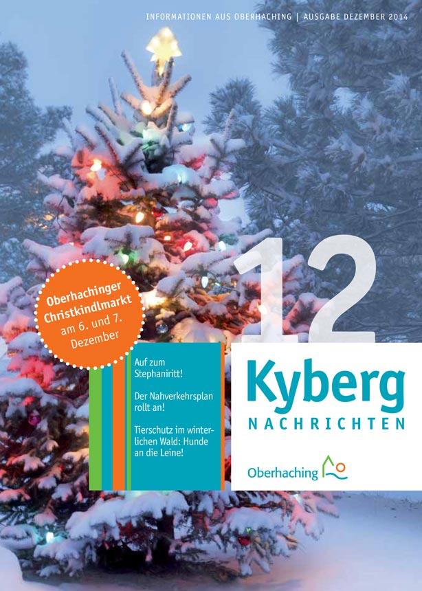 Kybergnachrichten Dezember 2014 Titelbild