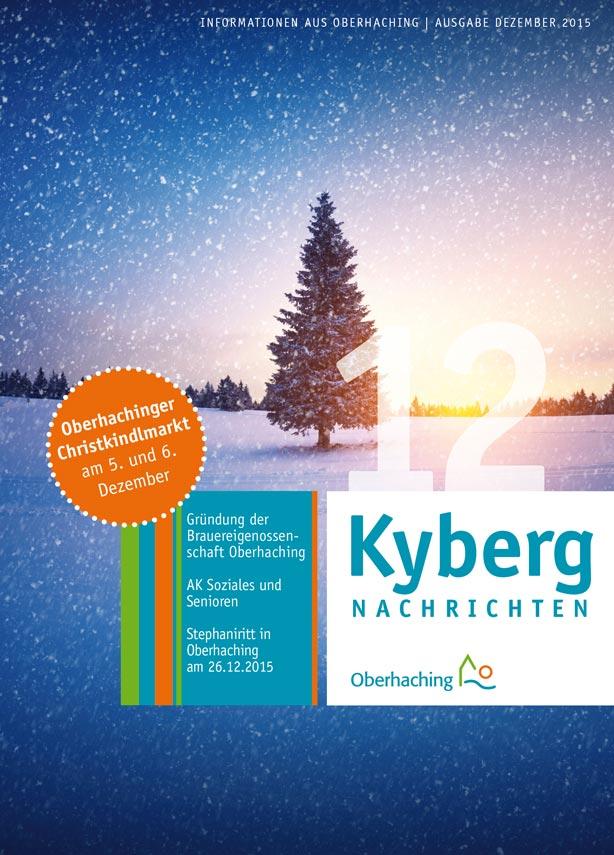 Kybergnachrichten Titelseite Dezember 2015