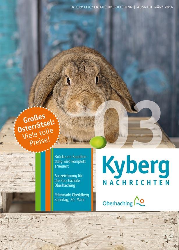 Kybergnachrichten Titelseite März 2016