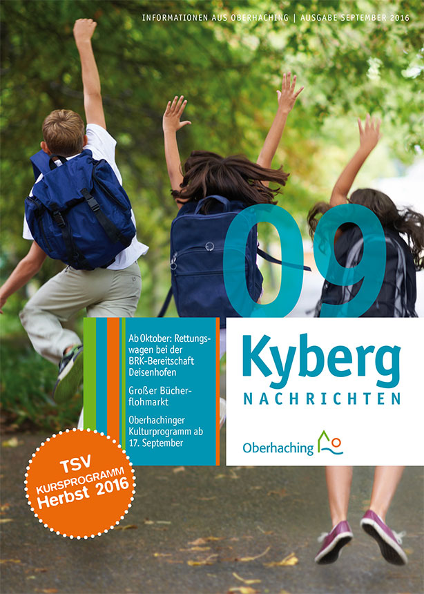 Titelseite Kybergnachrichten September 2016