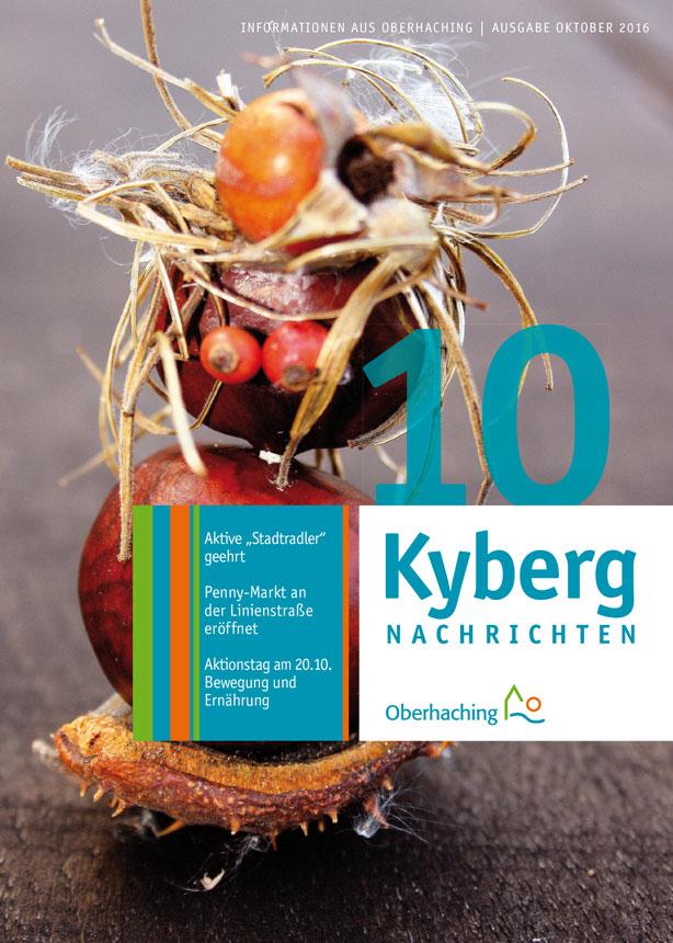 Titelseite Kybergnachrichten Oktober 2016