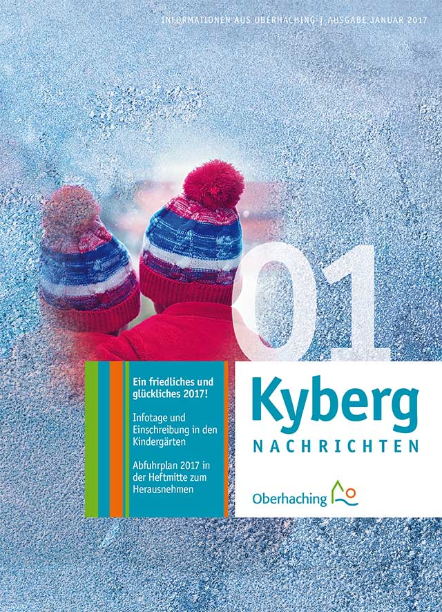 Titelseite Kybergnachrichten Januar 2017