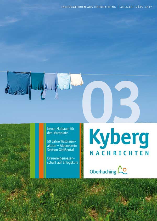 Titelseite Kybergnachrichten März 2017