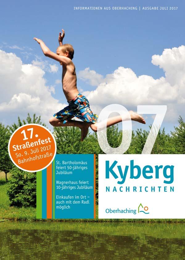 Kybergnachrichten Titelseite Juli 2017