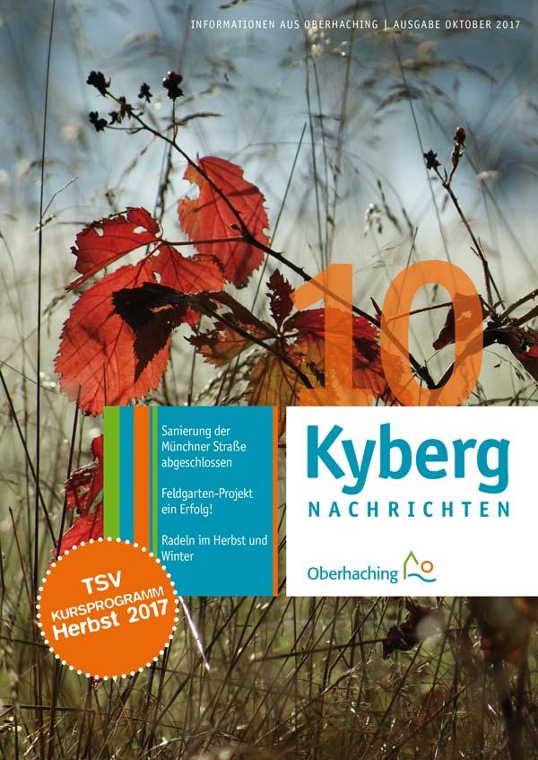 Titelseite Kybergnachrichten Oktober 2017