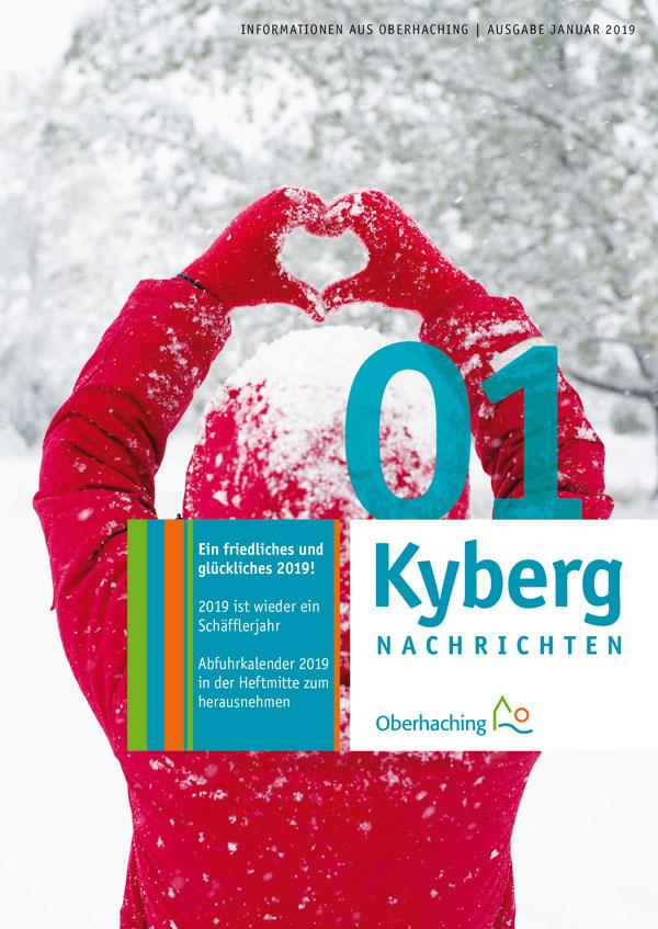 Titelseite Kabergnachrichten Januar 2019