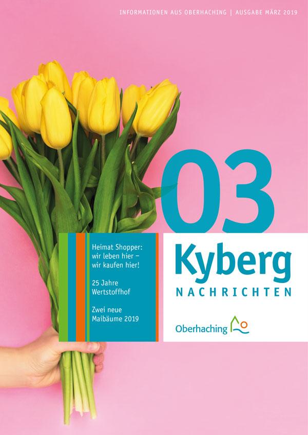 Titelseite Kabergnachrichten März 2019
