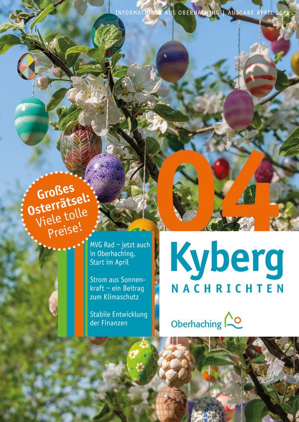Titelseite Kabergnachrichten April 2019