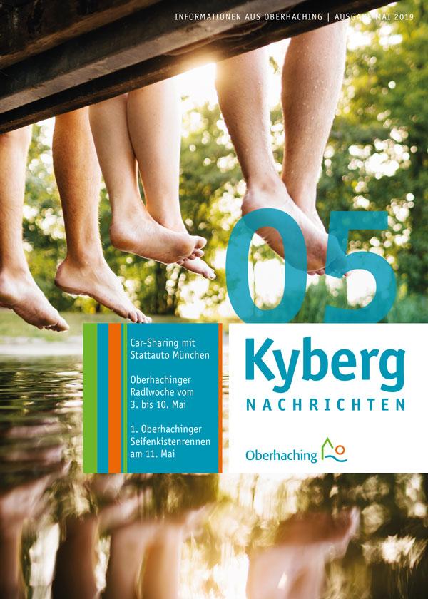 Titelseite Kabergnachrichten Mai 2019