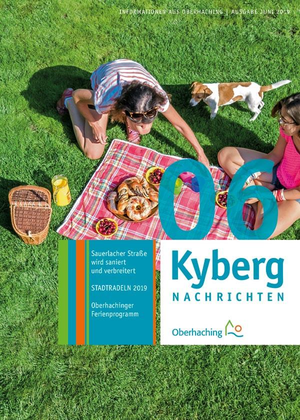 Titelseite Kabergnachrichten Juni 2019