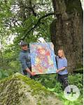 Ferienprogramm Sylvia Hammacher Kinder-Eltern-malen