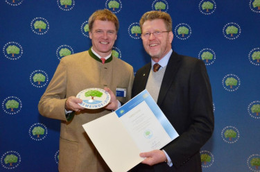 Gentechnikfrei_Kommune Verleihung Logo Februar 2012