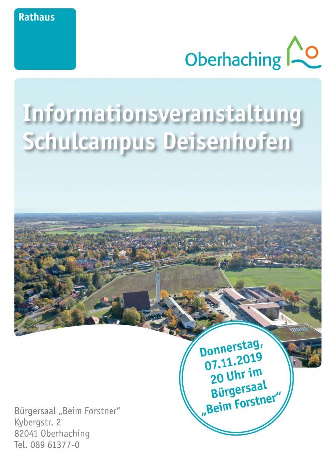 Informationsveranstaltung Schulcampus