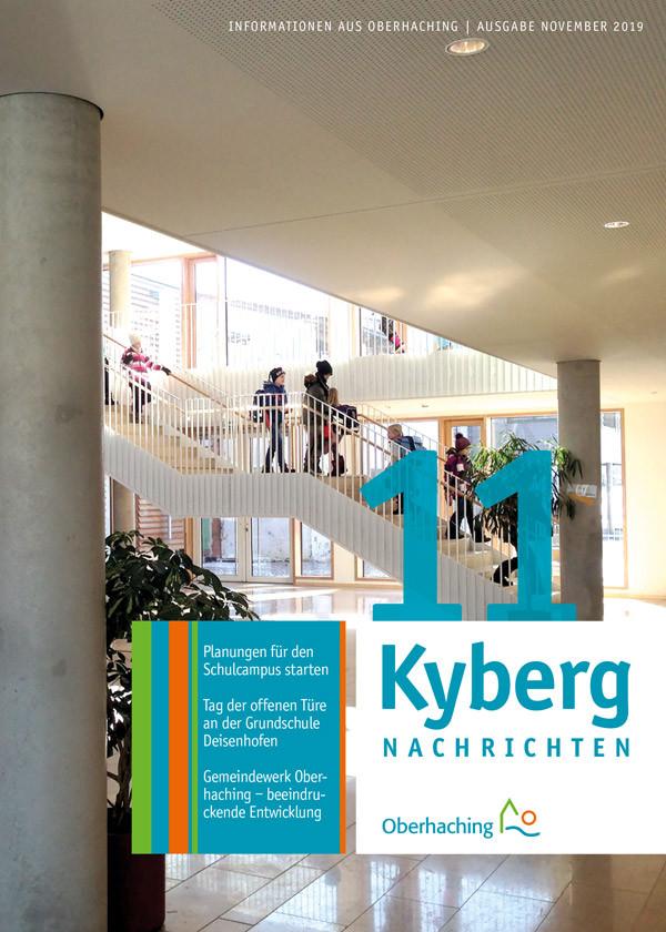Titelseite Kabergnachrichten November 2019