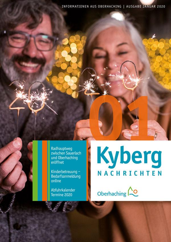 Titelseite Kabergnachrichten Januar 2020