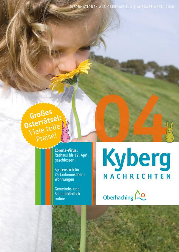 Titelseite Kabergnachrichten April 2020