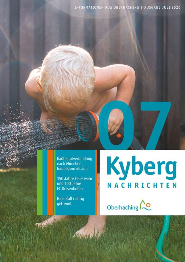 Titelseite Kabergnachrichten Juli 2020