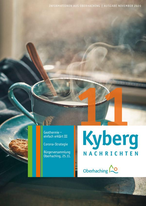 Titelseite Kabergnachrichten November 2020