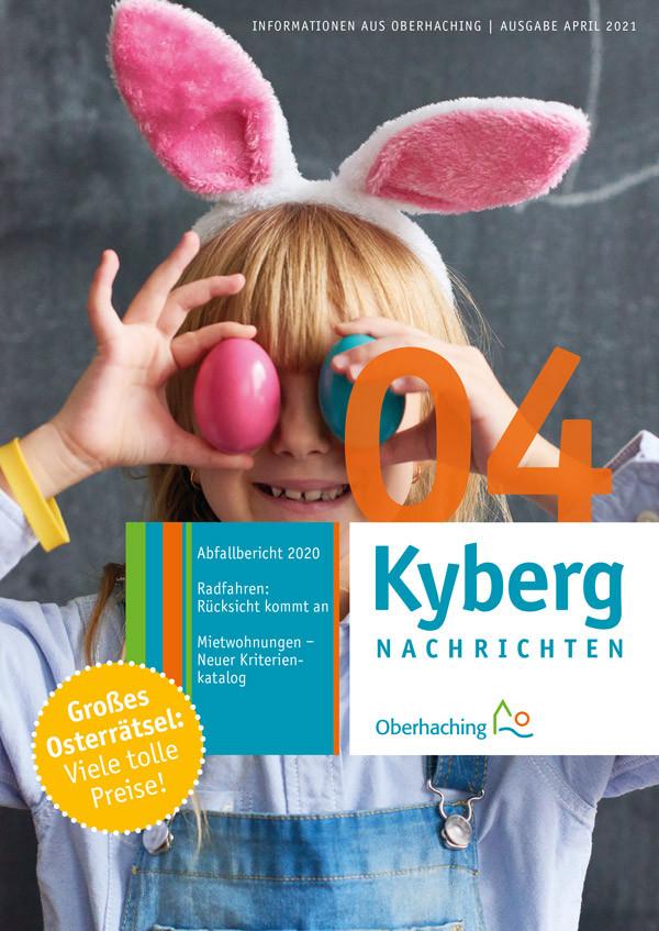 Titelseite Kyberg Nachrichten April 2021